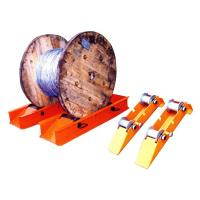 Wholesale HZT1250 15KN Cable Reel Rotator Platform from china suppliers