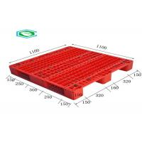 Buy cheap Racking Design Single Faced Reinforced Rectangle Grid Euro Plastic Export from wholesalers