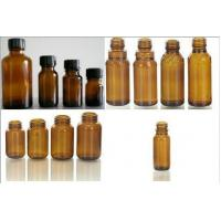 Wholesale Custom Clear / Amber, Medical, Pharmaceutical Screw Glass Bottles AM-MGB from china suppliers