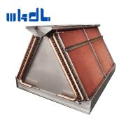 Wholesale copper tube fin heat exchange double coils air cooled condenser with factory price from china suppliers