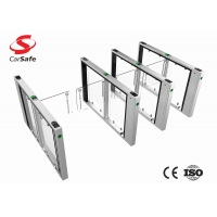 Buy cheap High performance 120W Stainless Steel Turnstile Gate 600mm Width for supermarket from wholesalers