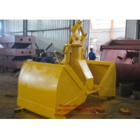 Wholesale Construction Equipments Excavator Clamshell Hydraulic Grab Bucket Customized Color from china suppliers