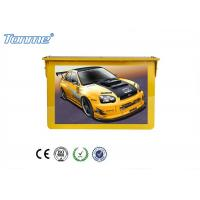 Wholesale 22'' Golden Yellow LCD Digital Signage Player 1080P Bus Hanging Indoor Display from china suppliers