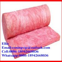 Quality Pink fiberglass wool insulation rolls for sale