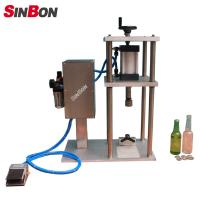 Wholesale Semi-Auto capping machine for beer glass bottle semi auto capping machine from china suppliers