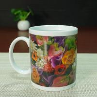 China Ceramic temperature changing mugs cup hearts gift  AB grade wholesale