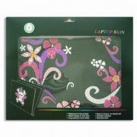 Wholesale Laptop Skin, Measures 12.2 x 8.3cm, Available in 14-design, Non-stick Dirt from china suppliers