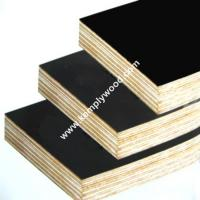 China 18mm Black Film Faced Plywood, Construction Shuttering film faced plywood wholesale
