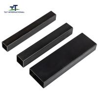 Wholesale Structural Mild Steel Rectangular Hollow Section Decorative 1.3-20mm Wall Thickness from china suppliers
