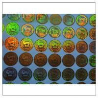Wholesale Anti-fake Hologram Sticker ,Holographic Label 3D Round Security Hologram Sticker ,Holographic Label 3D Laser  label from china suppliers