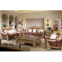 Luxury Sofa Sets By Beech Wood Craft Design In Golden Color Painting