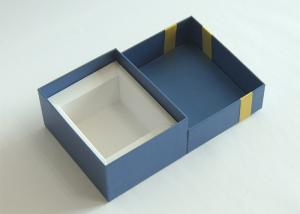 Wholesale Hard Cardboard Gift Boxes Lid And Base Favor Packaging Boxes With Ribbion from china suppliers