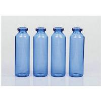 Buy cheap Blue 100ml Man Square Perfume Glass Bottle / Smaal Glass Vial For Car Decoration from wholesalers