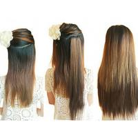 Wholesale 14-28  Long Lasting Synthetic Hair Extensions Weft Soft Tangle Shed Free from china suppliers