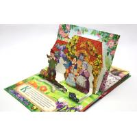 Wholesale Pantone Color Pop Up Book Printing Service , Offset Paper / Wood-Free Paper from china suppliers