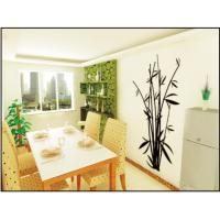 Wholesale Anti-Scrape Bamboo Nature Modern Wall Decals / Custom Wall Decals 0.7m x 1.2m from china suppliers