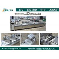 China Peanut Candy Bar Maker Cutting Machine / Cereal Fruit Nut Bar Production Line on sale