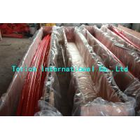 China Nimonic 80A Alloy Steel Seamless Pipes Good Creep Resistance PED Certification wholesale