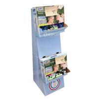 China Promotional paper display stand for P&G wholesale