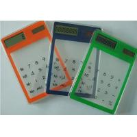 Wholesale Mini Transparent Solar Calculator from china suppliers