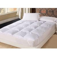 Wholesale ZEBO Comfortable Mattress Topper , Hotel Collection Mattress Topper Soft from china suppliers