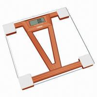 Quality High Accuracy Bathroom Scale with Smart Step-on Technology for sale