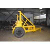 China Air Brake System Stable Cable Drum Trailer Drum Hauling For Transporting on sale
