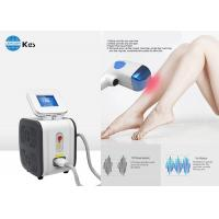 China 808 nm Permanent Diode Laser Hair Removal Machine Comfortable Pain Free on sale