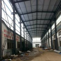 Wholesale Prefabricated Structural Steel Plant , Curved Roof Building Steel Structure Shed from china suppliers