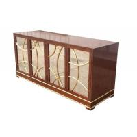 Wholesale Antique Hotel Room Dresser 5 Star Hotel MDF Board With Recessed Back Panel from china suppliers
