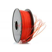 Wholesale 3D Printer 3mm PLA Filament Red  High Stiffness 1kg Spool , recycle 3d printer filament from china suppliers