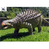 Wholesale Life Size Animatronic Dinosaur Realistic Resin Waterproof Ankylosaurus Display from china suppliers