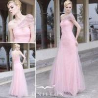 Wholesale charming organza formal gowns,  pink flower girl formal gowns from china suppliers