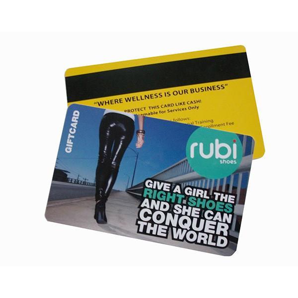 High quality plastic glossy pvc name business card4 color offset high quality plastic glossy pvc name business card4 color offset printing magnetic stripe pvc card for vip card colourmoves