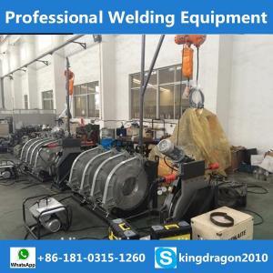 machine termofusion de pipe hdpe 315-90 50-160 450-200 315-630