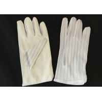 Wholesale 22cm Length ESD Hand Gloves , Non Static Gloves PU Coated Protective from china suppliers