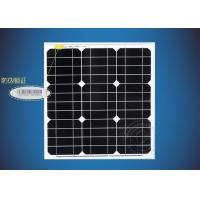 China New-Tech High Efficiency Frame 12V 40W Monocrystalline Black Solar Panel With Aluminum Alloy on sale