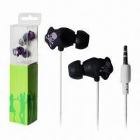 Wholesale MP3 Wired Earphones, Made of Plastic Material from china suppliers