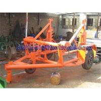 China Cable drum carriage/cable drum trailer on sale