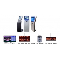Shangxu Automatic Queuing System with Ticket Dispenser,Calling Pad,LED Display accessories