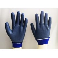 Wholesale Foam Eva Latex Dipped Gloves , Latex Rubber Gloves Breathable Knitting from china suppliers
