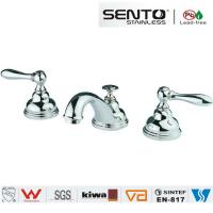 basin faucet of bathroom