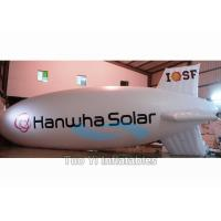 Wholesale Inflatable Zeppelin Air Balloon / Helium Advertising Blimp For Commercial Event from china suppliers