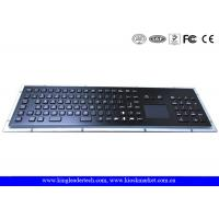 Wholesale IP65 Rated Black Metal Keyboard With Touch Pad,Function Keys And Number Keypad from china suppliers