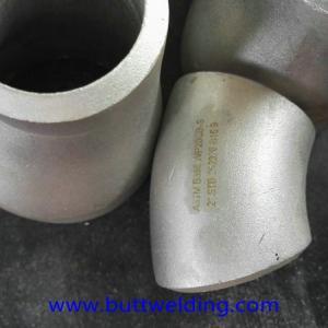 Buy cheap Super Duplex ASTM A32750  Pipe Fitting 45D 2