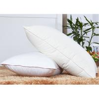 Wholesale Rectangle 80% Goose Down Pillows And 250T With Customize Size from china suppliers
