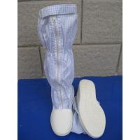 Wholesale Convenient ESD Anti Static Clean Room Booties Easy Clean For Electronics Factory from china suppliers