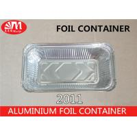 Wholesale 620ml Volume Aluminum Foil Packaging Foil Containers With Lids For Food from china suppliers