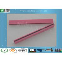 Wholesale Pink Foamed Heat Seal Connector , Rubber Conductive Flexible Flat Cable Connector from china suppliers