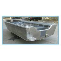 Wholesale 12 Feet Aluminum Fishing Boats , Customized Aluminum Jon Boats 1.9m Depth from china suppliers